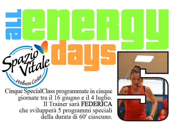 All Energy Days: SpecialClass 5 giorni 5 lezioni