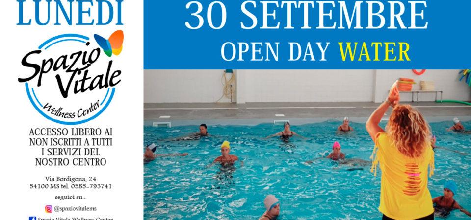 OPEN DAY WATER – 30 SETT 2019